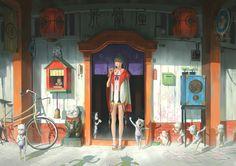 ArtStation - Witch Store, Zeen Chin