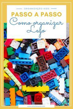Passo a passo: como organizar Lego - Conxita Maria - A Arrumadinha | Organização
