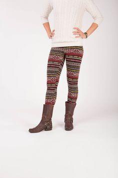 Adair - Winter warme legging met fleece Leg Warmers, Winter, Pants, Fashion, Leg Warmers Outfit, Winter Time, Trouser Pants, Moda, Fashion Styles