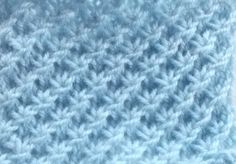 the beautiful star when knitting - La Grenouille Tricote Crochet is usually a task of Baby Knitting Patterns, Knitting Stiches, Knitting Designs, Crochet Patterns, Tunisian Crochet, Diy Crochet, Beau Crochet, Star Stitch, Le Point