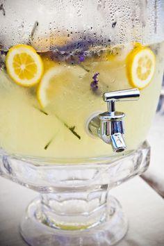 The freshness of lavender lemonade!