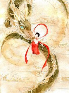 古风 Chinese art。