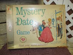 Vintage 1965 Milton Bradley Mystery Date Game Complete 1st Edition 4502 by EvenTheKitchenSinkOH on Etsy