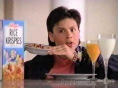 Rice Krispies Cereal Commercial ft Jennifer Morrison (1991) Talking Snap...