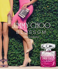Blossom by Jimmy Choo - Abre com notas cítricas e de frutas vermelhas dominadas por framboesas, coração de flores suaves e rosas doces com base em sândalo e almíscar branco.