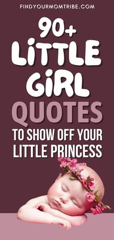 A collection of the best little girl quotes perfect for moms and dads who want to share just how precious their little angel is. #best #Little #Girl #Quotes Newborn Baby Quotes, Cute Baby Quotes, Baby Girl Quotes, Son Quotes, Daughter Quotes, Baby Girl Newborn, Happy Quotes, Little Girl Quotes, My Little Girl