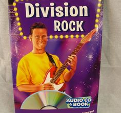 Division Rock Audio CD & Book NEW Learn Math Songs Facts Classroom School #Educational