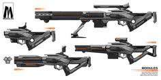 ArtStation - Modules weapon design, Archer Ding