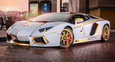 "Gold Plated Lamborghini Aventador is ""1 of 1"" [w/Video]"
