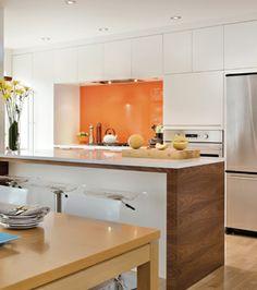 Modern kitchen in Montreal