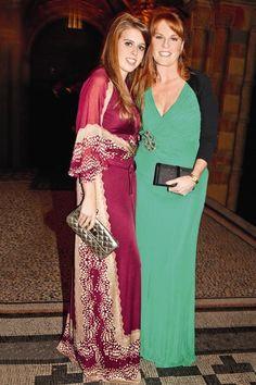 gingerprinceharry:  Princess Beatrice and mom, Sarah, Duchess of York