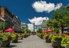 Place Jacques Cartier - Montreal, Quebec