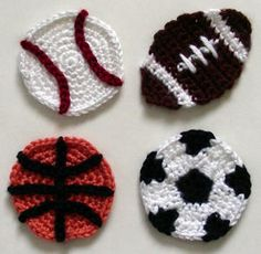 for crochet applique patterns i
