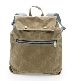 Billy Waxed Canvas Backpack