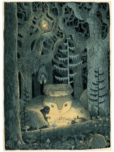 In the Howling Forest by Chuck Groenink