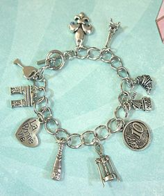 everything French charm bracelet! Should've had this for the Midnight In Paris Formal Dance!!!