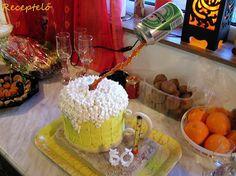 Receptelő: Sörtorta (sörkrémmel) Birthday Cake, Sweet, Cakes, Food, Beer, Birthday Cakes, Essen, Cake, Pastries