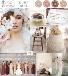 Magnolia Rouge: Board#228: Dusky Rose