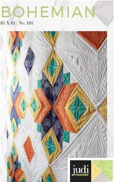 Judi's newest release is one of her all time favorite quilts she has designed. You will have an amazing time piecing this gorgeous quilt. The instructions are in full color and step by step directions