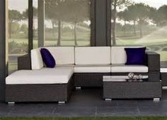 Modern Patio Couch Set