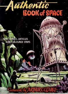 """Authentic Book of Space""--how cool is that?!? Had never heard of this. Love the funky image. --Pia (Authentic Book of Space (1954))"