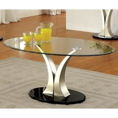 Shop for Furniture of America Velma Modern Satin Plated Coffee Table. Get free shipping at Overstock.com - Your Online Furniture Outlet Store! Get 5% in rewards with Club O! - 17075829