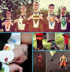mariage super héros