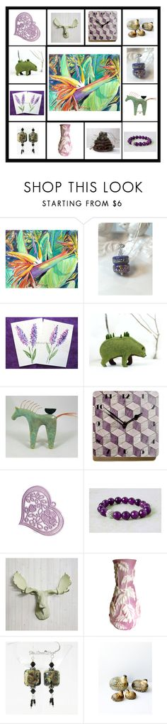 """""""Lovely gifts"""" by keepsakedesignbycmm on Polyvore featuring Cadeau, vintage, jewelry, accessories and decor"""