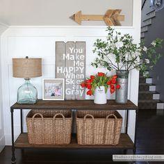 ❤I love the sign!!❤ White vase challenge - Sunny Side Blog