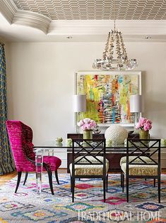 dining room | Harmonious Living by Tish Mills Interiors