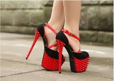 high heels images, image search, & inspiration to browse every day. Stilettos, Black Stiletto Heels, Studded Heels, Sexy Heels, Strappy Heels, Platform High Heels, High Heel Pumps, Pumps Heels, High Heels Images