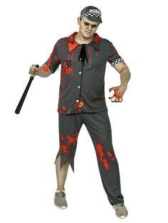 Zombie-Polizist Halloweenkostüm grau-weiss-rot. Aus der Kategorie Halloween Kostüme/Halloween Kostüme Herren. Verbreiten Sie als untoter Polizist Angst und Schrecken auf der Halloween-Party mit diesem großartigen Zombie Polizist Kostüm. Beim Anblick des Zombie Cops werden sich sicher alle Gäste an das Gesetz halten.