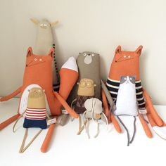 Очаровательные текстильные игрушки-примитивы Kim Smith - Ярмарка Мастеров - ручная работа, handmade