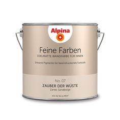 Alpina Feine Farben No. 07 – Zauber der Wüste. #Design #DIY #Farbe #Einrichten…