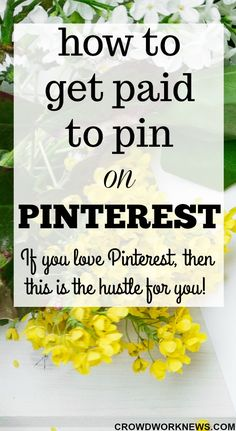 Do you spend most of your time on Pinterest? I know it's addicting:-) But there is a way you can earn money for being on your favourite social media channel. Just click through to check out how you can get paid to pin on Pinterest. This is one of the most fun side hustles. #sidehustle #workathome