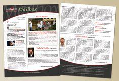 Newsletter Design   image of employee newsletter layout