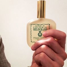 Santa Maria Novella's Melograno is one of Steve's top picks for 2014 #luckyscent #italian #perfume