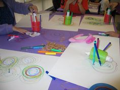 https://flic.kr/p/st6xjK | ArtBots 2014 | Kids building and learning about ArtBots!  A mini-maker program presented by FabNewport!