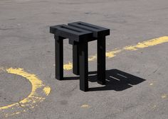 Dear M by Romain Voulet Black Stool, Black Edition, Rv, Projects, Photography, Furniture, Instagram, Design, Home Decor