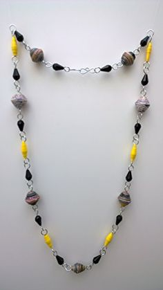 1st wedding anniversary Paper Bead Necklace by MIMI PINTO MIMI PINTO http://www.amazon.co.uk/dp/B00BH66EP6/ref=cm_sw_r_pi_dp_P1SNub0SD7BKF