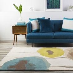 Modern Florals Are On Trend For 2016! This Rug Is Available From  @SandersonFWu0027s Collection