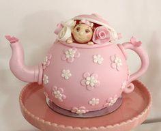 Tea pot cake for 1st