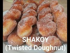 How to make Shakoy - Bicho Bicho (Twisted Doughnut) - YouTube