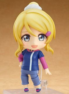 Love Live! School Idol Project - Ayase Eli - Nendoroid - Training Outfit Ver. (Good Smile Company)