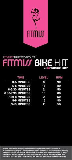 Bike hiit workout