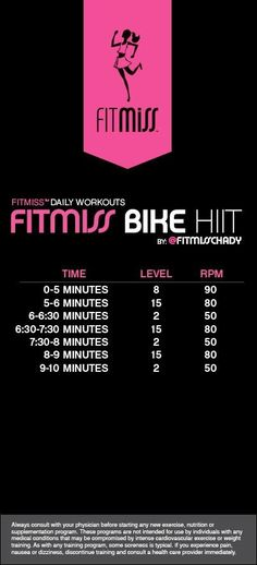 Bike hiit workout