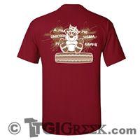 TGI Greek Tshirt - Alpha Omicron Pi - Bear