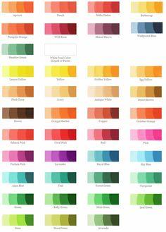 junwd.com :: 12층 web디자이너 :: [색상표] 내가 좋아하는 파스텔톤 색상표