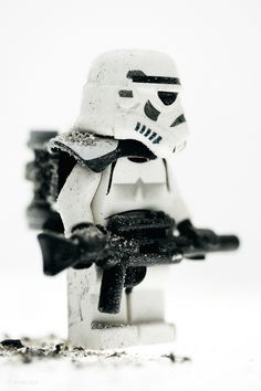 https://flic.kr/p/86GSet | The Sandtrooper | I like these guys. No specific reason, they just look great.  Looks nice on white.