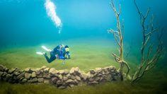 A Photographer Dives Into Norways Underwater Atlantis